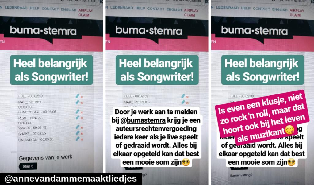 Via een instagramstory kwam ik erachter dat er veel vragen waren over Buma/Stemra, die beantwoord ik deels in deze blog.