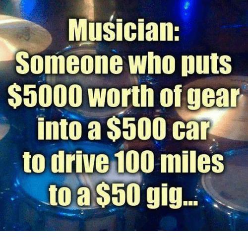 Muzikanten doen alles voor hun carrière en cijferen zichzelf daarin vaak weg