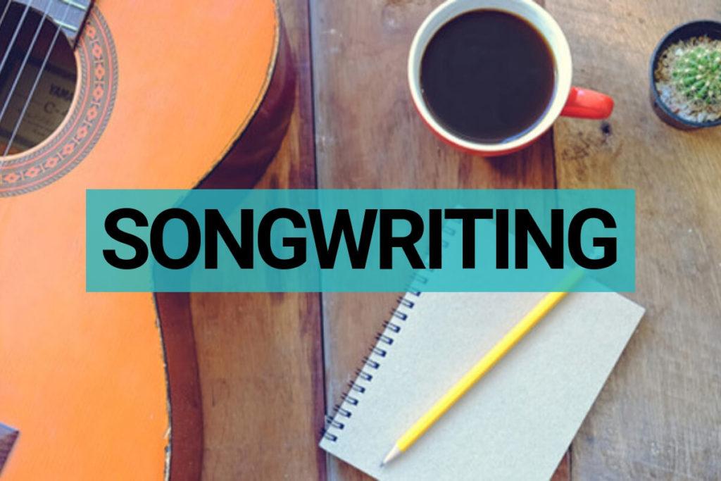 Songwriting muziekles voor beginners en gevorderden in 's-Hertogenbosch.