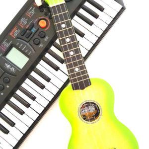 Muziekjuf Anne van Damme geeft de leukste muzieklessen aan kinderen. Zingen, samen spelen en liedjes maken!